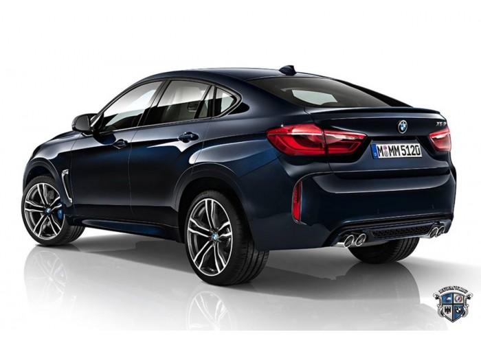 Аренда BMW X6 синий 2015г.