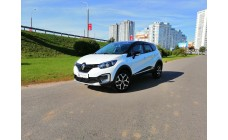 Renault Kaptur 2019 белый